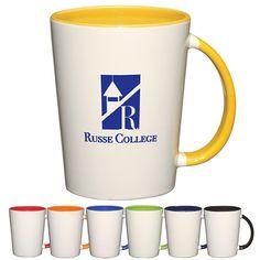 Promotional 14 oz. Capri Mug | Customized Ceramic Mugs | Promotional Ceramic Mugs
