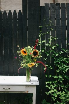 Fresh Flowers from local Farm 51 by Chicory Florals