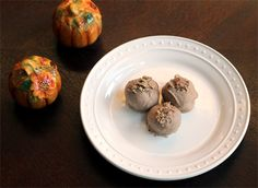 Ginger Pumpkin or Apple Cinnamon Truffles- these sound great for Thanksgiving
