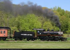 RailPictures.Net Photo: ARA 18 Arcade & Attica Railroad Steam 2-8-0 at Arcade, New York by Andrew Blaszczyk (2)