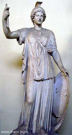ATHENE    Museum Collection: Museo Pio-Clementino, Musei Vaticani, Vatican City