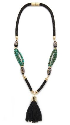 Holst + Lee Anguilla Tassel Necklace