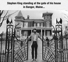 Stephen Lives In A House Of Horror - GAG