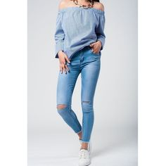 skinny jeans with broken knees  #moda #fashioicon #shopping #fashiondesigner #fashionstyle #fashion #fashionlover #fashiongirl #fashionable #shoppingonline