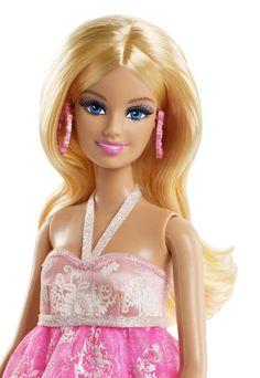 Barbie - Vestido de gala floral (Mattel BFW17): Amazon.es: Juguetes y juegos.../ 9..38.3.28