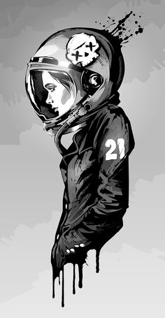 Cadet 21 by Monster graphics for like a black store Art Sketches, Art Drawings, Sketch Manga, Astronaut Wallpaper, Space Artwork, Space Illustration, Astronaut Illustration, Graffiti Wallpaper, Cyberpunk Art