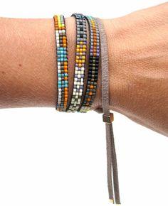Adjustable Beaded Bracelet/Necklace by Julie Rofman, Guggenheim, NYC