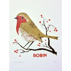 Robin (465 RON) ❤ liked on Polyvore featuring home, home decor, bird home decor and christmas home decor
