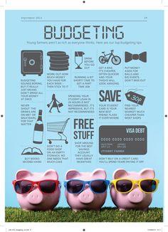 University budgeting tips #studentfarmer