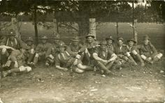 Sharing Soldiers, Trentham 1916 at Upper Hutt City Library The Hutt, City Library, Lest We Forget, World War One, Wwi, Old Pictures, Soldiers, New Zealand, Posters