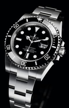 #1 Mens dress watch ever made. The Rolex Submariner.
