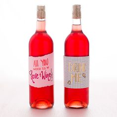 How to Make Your Own Wine Labels ( Delicious Winter Sangria!) Wine Bottle Labels