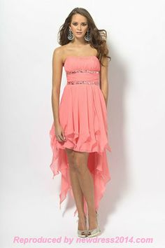Bridesmaid dress, wish it wasn't a hi-low though