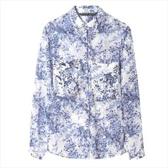 Zara - Combination Blouse