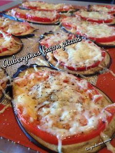 Une recette irrésistible, originale, pour tous les jours et pour tous les goûts ! Aubergine Pizza, Food Fantasy, Food Videos, Healthy Dinner Recipes, Vegan Vegetarian, Food And Drink, Yummy Food, Nutrition, Cooking