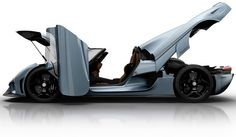 2016 Koenigsegg Regera. $1,800,000. Production limited to 80 handcrafted units.