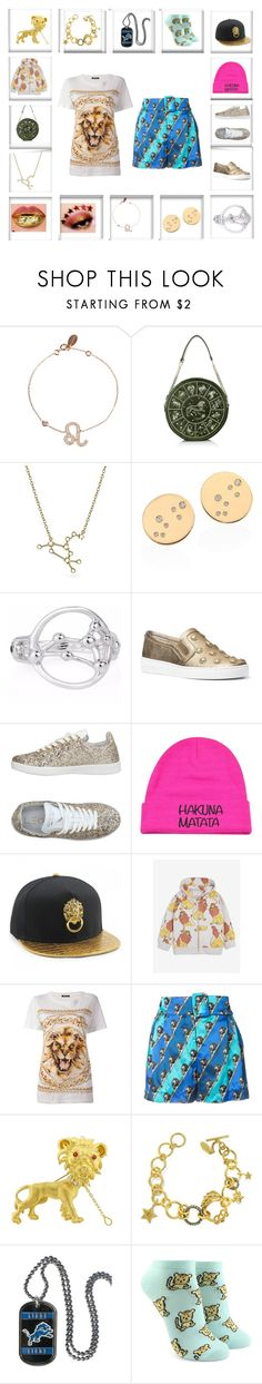 """Zodiac contest entry"" by odscene ❤ liked on Polyvore featuring Bling Jewelry, MICHAEL Michael Kors, Leo Studio Design, Disney, Mini Rodini, Balmain, Mary Katrantzou, Buccellati, Roberto Cavalli and Forever 21"