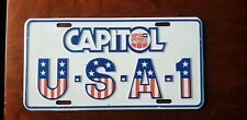 Vintage U S A 1 Capitol Chevrolet Nashville Tn License Plate Chevy