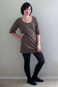 T-Shirt Mini Dress with Downloadable Pattern! –