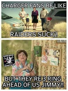 Lol.. Chargers SUCK