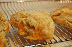 Cheddar - Dill scones mmm