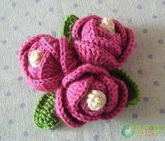 free crochet flower patterns - Buscar con Google