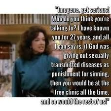 Image result for julia sugarbaker aids quote