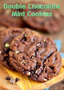 ... Double Chocolate Mint Cookies - you'll regret it! I use this chocolate