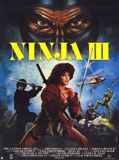 Ninja III: The Domination is a 1984 film directed by Sam Firstenberg, and stars Sho Kosugi as Yamada, Lucinda Dickey as Christie, Jordan Bennett as Officer Billy Secord, and James Hong as Miyashima. Ninja III: The Domination is the third film in a series of Ninja films, the first being Enter the Ninja, and the second being Revenge of the Ninja, which are not directly related to one another in terms of storyline.