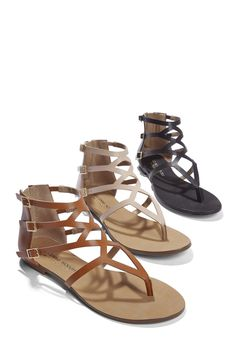 Spring and Summer Sandals