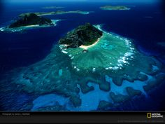 From National Geographic.  Fiji Islands.  Beyond gorgeous.  I would be fine living there I am thinking.