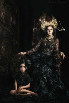 *** by Constantin Shestopalov on 500px #raven queen