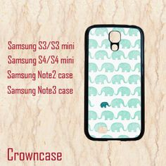 Samsung galaxy s4 active case,Samsung galaxy s4 active,Samsung Galaxy S3 case,Samsung Galaxy S4 case,S4 Mini case--elephant,in plastic. by CrownCase88, $14.99