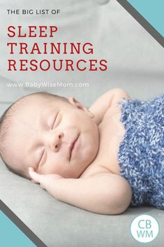 Waking early from napswont fall asleep for nap babies parents the big list of sleep training resources ccuart Gallery