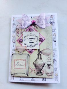 Ephemera card created by Elisabeth Hogarth