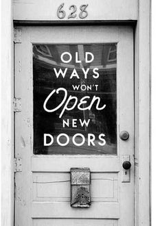 When Opportunity knocks, which door will you be @