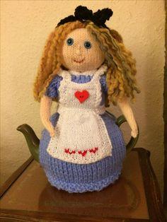 Alice in Wonderland Tea Cosy