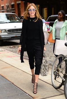 Pin for Later: Olivia Palermo Just Broke Summer's Number 1 Fashion Rule