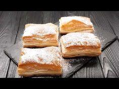 Canım tatlı birşeyler istiyor ama yapmaya ne vaktim var nede halim diyenlere selam olsun :D Bugün pratik milföylü napolyon tatlısı tarifi sizler için geliyor. Milföylü bir tarif olduğu için ne kadar kolay olduğunu söylememe gerek olmadığını düşünüyorum. Bread, Cheese, Recipes, Food, Portal, Youtube, Brot, Essen, Eten
