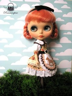 Blythe outfit Hansel and Gretel No2 by POMMECOPINE by Pommecopine, $24.00