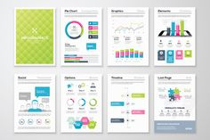 Infographic Brochure Elements 12 by Infographic Template Shop on @creativemarket