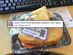 One thing Berries will never do again (17 photos) #theBERRY #gross #sandwich #fail