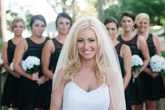 My bride and bridesmaids picture. Bride Samantha Link.