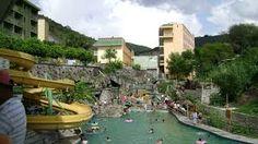 Balneario de aguas termales, Sta. María Amajac. Hidalgo México