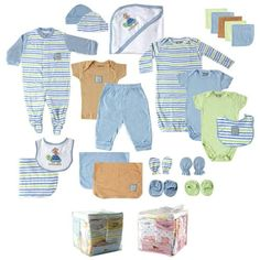 Wrap gifts in no time with this layette set from Luvable Friends. This blue layette set from Luvable Friends is perfect for your little bundle of joy. Baby Layette, Baby Boy Newborn, Baby Boys, Baby Vision, Baby & Toddler Clothing, Unisex Baby, Baby Accessories, Baby Shower Gifts, Kids Outfits