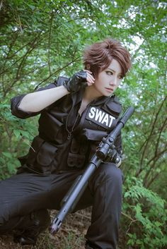 Haikyuu SWAT AU - Oikawa