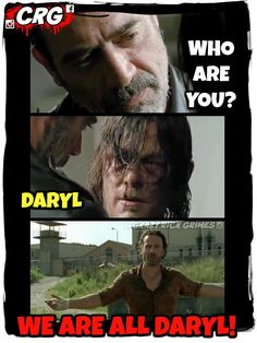 Daryl, The Walking Dead.