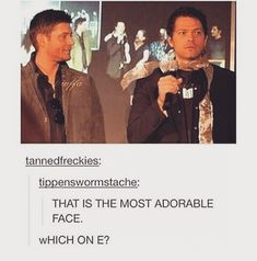 Supernatural fandom Misha and Jensen ❤ young ❤ Cas and Dean ❤