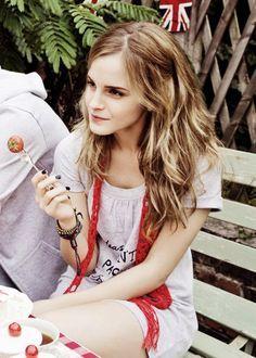 Emma Watson lollipop