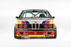 ///////// This magnificent BMW CSI Group A was produced by BMW between 1983 and Adorned in its famous rainbow livery, it competed in the European Touring Car Championship (ETCC) under the. Salvador Dali, Nascar Cars, Race Cars, Matisse, Bmw 635 Csi, Bmw 6 Series, Bmw Wagon, Bmw Parts, Supercars